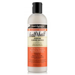 Aunt Jackie' s Curls & Coils Flaxseed Recipes Half & Half - Hydrating Silkening Hair Milk