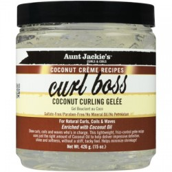 Aunt Jackie' s Curls & Coils COCONUT Creme Recipes - CURL BOSS