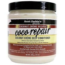 Aunt Jackie' s Curls & Coils COCONUT Creme Recipes - COCO REPAIR