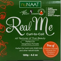 Nunaat Real Me Curl-To-Coil Pomade