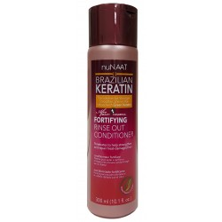 Nunaat Brazilian Keratin Rinse Out Conditioner