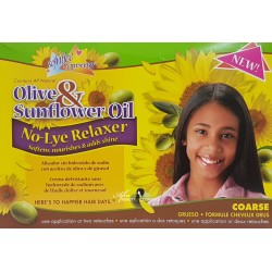 Sofn' Free N' Pretty Olive and Sunflower Oil No Lye Relaxer Super