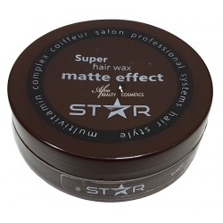 Star Wax Matte Effect (brown)