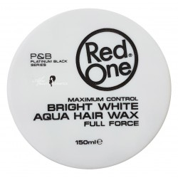 Red One Aqua Hair Wax (White)