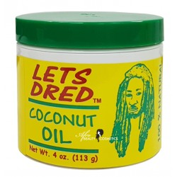 Let's Dred Coconut Oil