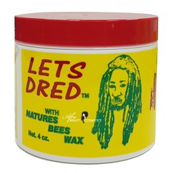 Let's Dred Natures Bees Wax