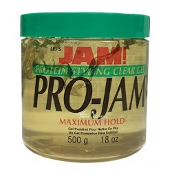 Let's Jam PRO-JAM Protein Styling Clear Gel