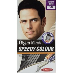 Bigen Men's Speedy Colour 101 Natural Black