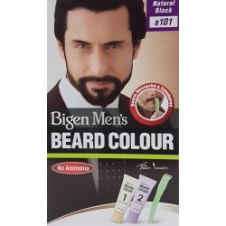 Bigen Men's Beard Colour Natural Black B101