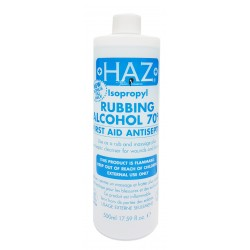 HAZ+ Rubbing Alcohol (White)