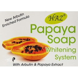 Haz Papaya Soap - Whitening System