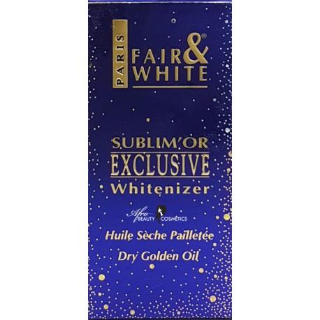 Fair & White Exclusive Whitenizer Serum