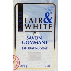 Fair & White Savon Gommant Exfoliating Soap