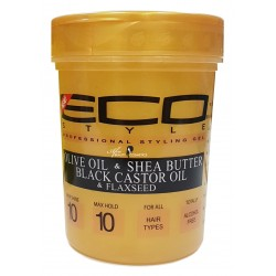 Eco Styler Olive Oil & Shea Butter & Black Castor Oil & Flaxseed