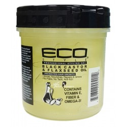 Eco Styler Black Castor Oil & Flaxseed Oil