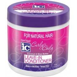 Fantasia IC Curly and Coily Leave-In Conditioner