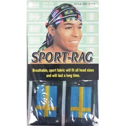 Sport-Rag Cap NO. 5704 blue-yellow-white-black