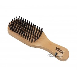 Platte Houten Borstel CLUB wave brush