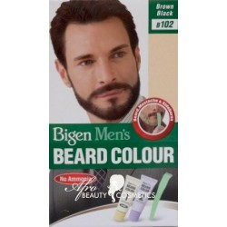 Bigen Men's Beard Colour Brown Black B102