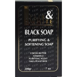 Fair & White Original Anti-bacterial Black Soap