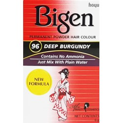 Bigen Deep Burgundy Permanent Hair Color 96