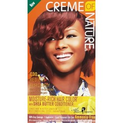 Creme of Nature Ammonia Free Haircolor C30 - Red Hot Burgundy