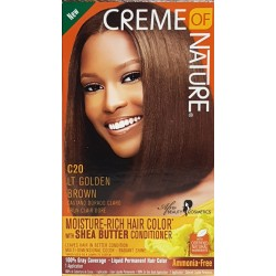 Creme of Nature Ammonia Free Haircolor C20 LT GOLDEN BROWN