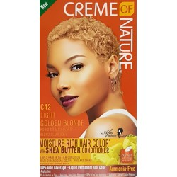 Creme of Nature Ammonia Free Haircolor C42 Light Golden Blonde