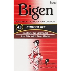 Bigen Chocolate Permanent Hair Color 45