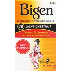 Bigen Light Chestnut Permanent Hair Color 46