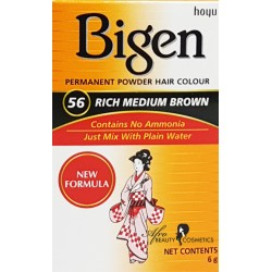 Bigen  Rich Medium Brown Permanent Hair Color 56