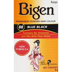 Bigen Blue Black Permanent Hair Color 88