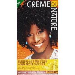 Creme of Nature Ammonia Free Haircolor C10 - Jet Black