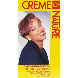 Creme of Nature Ammonia Free Haircolor C21 - Light Ash Brown