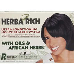 Herba Rich Relaxer with Oils & African Herbs - Regular