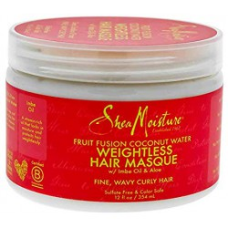 Shea Moisture fruit fusion coconut water weightless masque