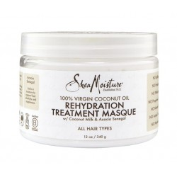 Shea Moisture 100 virgin coconut oil rehydration treatment masque