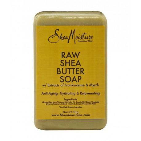 Shea Moisture raw shea butter bar soap